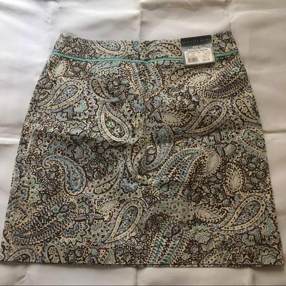 Geoffrey Beene Dresses & Skirts - Geoffrey Beene Sport Stretch twill min skirt sz 12